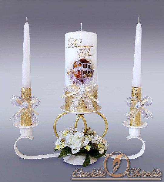 Подсвечники для свадебного очага своими руками 4