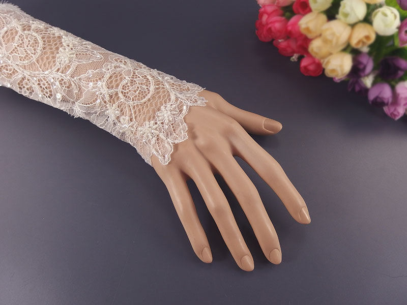 Перчатки из гипюра своими руками 57