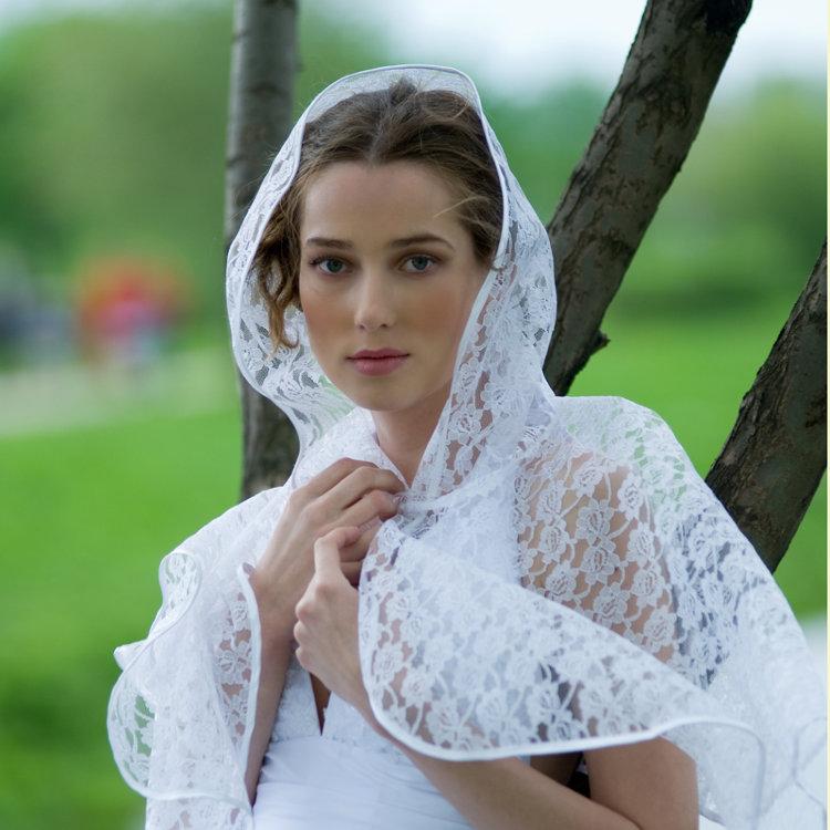 Свадебное Платье С Капюшоном Для Венчания