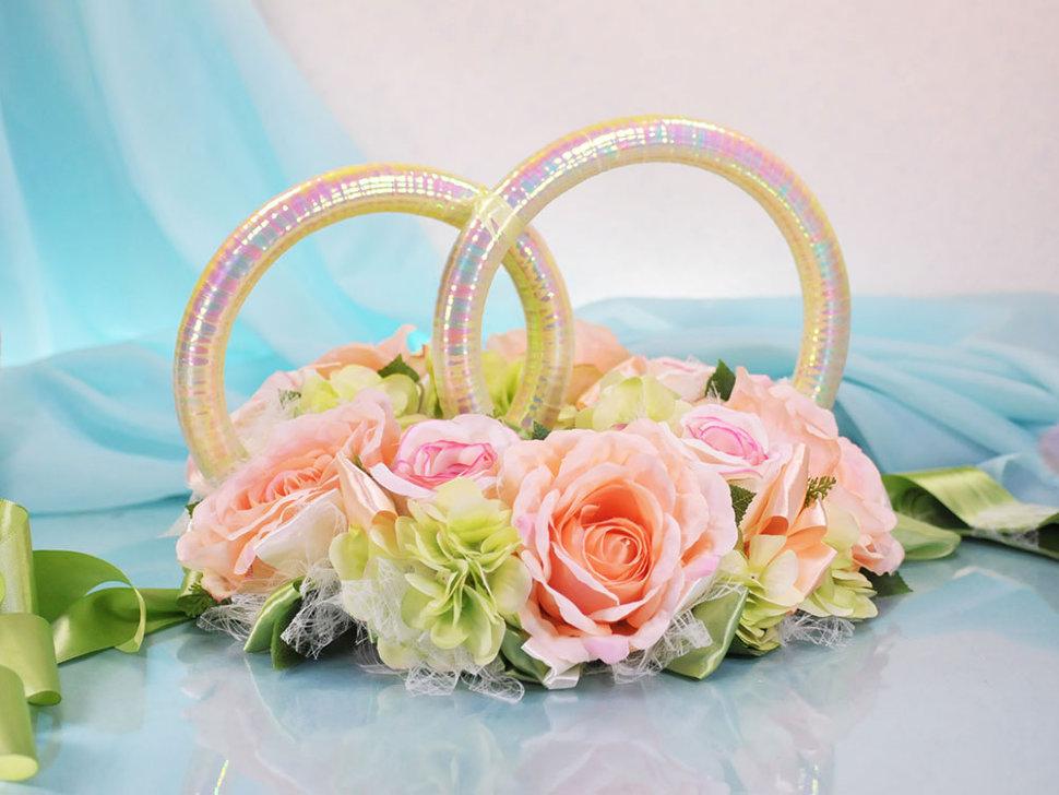f7fdbddd3cd715 Кольца и банты для свадебного авто, набор Весна Набор Весна для украшения  свадебного автомобиля: